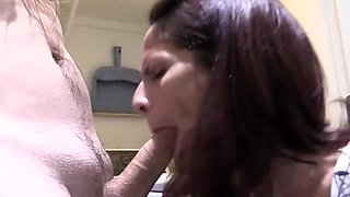 Wife Blowing Cock