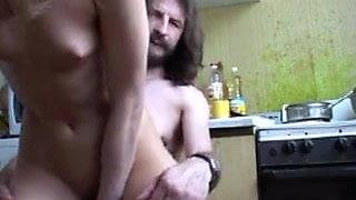 Dad fucks daughter 1