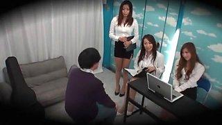 Hottest Japanese slut Leila Aisaki, Aoi Aoyama, Miwako Yamamoto in Crazy Group Sex, Stockings JAV clip