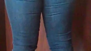 Booty Wedgie In Jeans