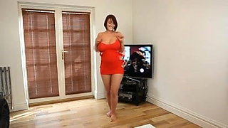 Dirty Dancing: Nude Busty Brit Strip