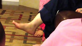 Pakistani Sexy MILF Salwar High Feet Showing