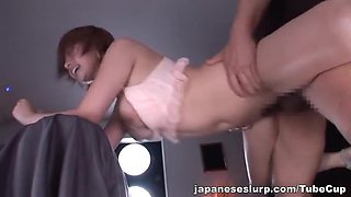 Rika Hoshimi hot Asian milf enjoys her toys and a cock