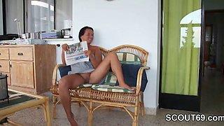 German Mother seduces her Step Son