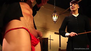 Divine Intervention: A Divine Bitches feature presentation with taboo, punishment and milking!