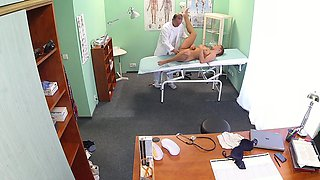 FakeHospital Beautiful redhead prescribed cock by her doctor
