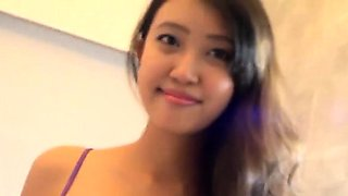 Thai hotty begs her dude to drill her as hard as he only can