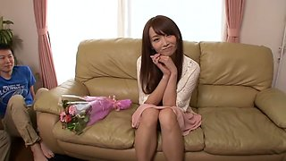 Hottest Japanese model in Horny HD, Bukkake JAV video