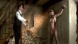 Slave girl unlocked for some hot sexual punishment