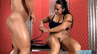 Denise Masino &amp Alicia Alfaro Clit Pumping