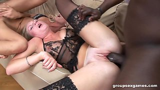 Black dude and a white one fuck sexy sluts Cameron Gold and Ulrika