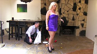Alura Jenson clerk a chance to do whatever he wants with her body