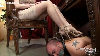 Horny Big Bosses Headmistress Dominates Her Employee In The Office - Brandi Love