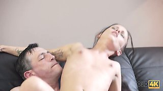 Pretty Romanian babe Tina Walker gets her muff rammed by horny guitar teacher
