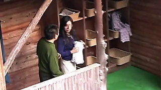 Fuck Other's Wife In Japanese Onsen Spa