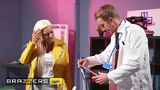 Doctor Danny D Tests if Sienna Day's Pussy Can Feel