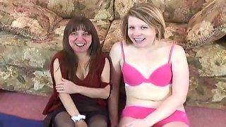 Lesbian Amateurs Make Erotic Love On Camera