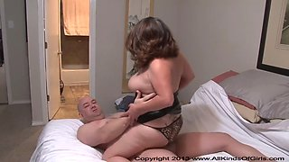short chubby mature mexican housewife gets butt fucked