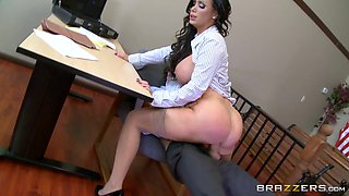 Nikki Benz & Danny D in ZZ Courthouse: Part Two - Brazzers