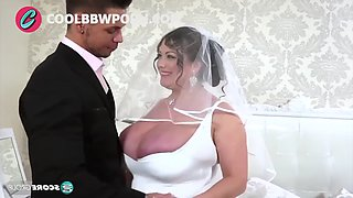 Busty bride and big cock