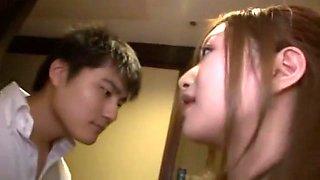 Exotic Japanese girl Karen Fujiki in Best Secretary, Gangbang JAV movie