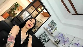 Nasty big tits tranny from shemale nation fucking horny hunk