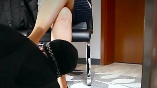 Technician visit the secretary&#039s office with horny surprice