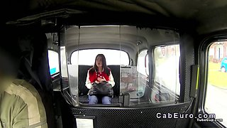 Fake taxi driver fucking beautiful amateur babe