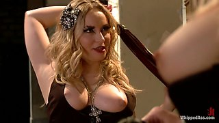 Crazy lesbian, fisting sex movie with fabulous pornstars Maitresse Madeline Marlowe, Lorelei Lee and Aiden Starr from Whippedass