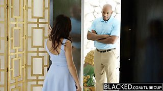 BLACKED Megan Rains First Experience With BBC Part 2