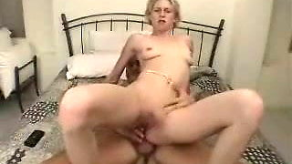 Blonde Amateur Anal Casting With Facial Cumshot