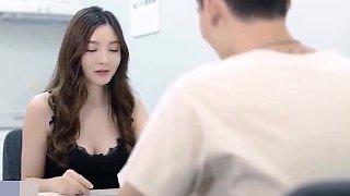 Chu fang chinese babe fucked hard