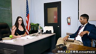 Brazzers - Big Tits at School - Parent Fucking Teacher Meetings scene starring Angela White