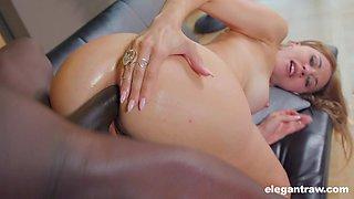Having got naked white bootylicious lady Paulina Soul enjoys hard doggy anal