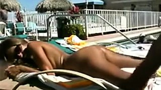 Ravishing babe with a perfect ass gets fucked on the beach