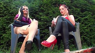 An Outdoor Pissing Porn With Leony Aprill And Jenna Lovely