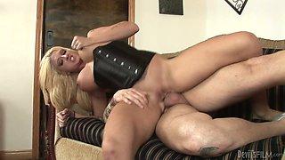 Big tits blonde fucking. Part 3