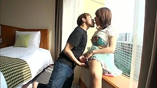 Hottest Japanese girl Riko Chitose in Horny Compilation, Wife JAV video
