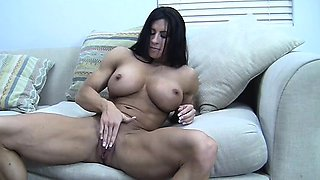 Angela Salvagno and Her Big Clit