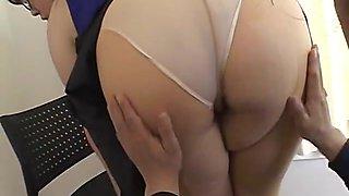 Sazanami Yume in Nikkan Complex! Animal Big Tits Female Teacher