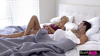 Hung Step Brother And Sister Share A Bed