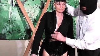 She enjoys in hot bondage torturing and spanking