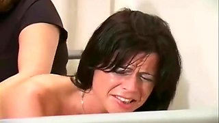 Very hot butt spanking compilation video