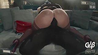 Big ass fucked animation