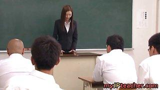 Kotone Amamiya Hot Japanese teacher