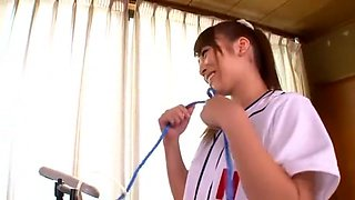 Best Japanese chick Kokomi Sakura in Hottest Fingering, Pissing JAV scene