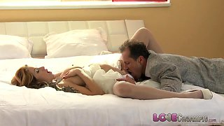 Love Creampie Busty pregnant wife to be fucks best man