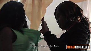Hotel Hidden Cam Shows Black Lesbians Cheating on Husbands