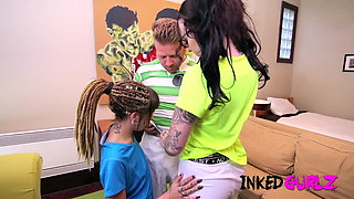 Inked Gurlz - Inked Soccer Teens Fucked by Coach