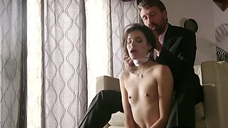 Demanding husband loves playing deviant games with his wife
